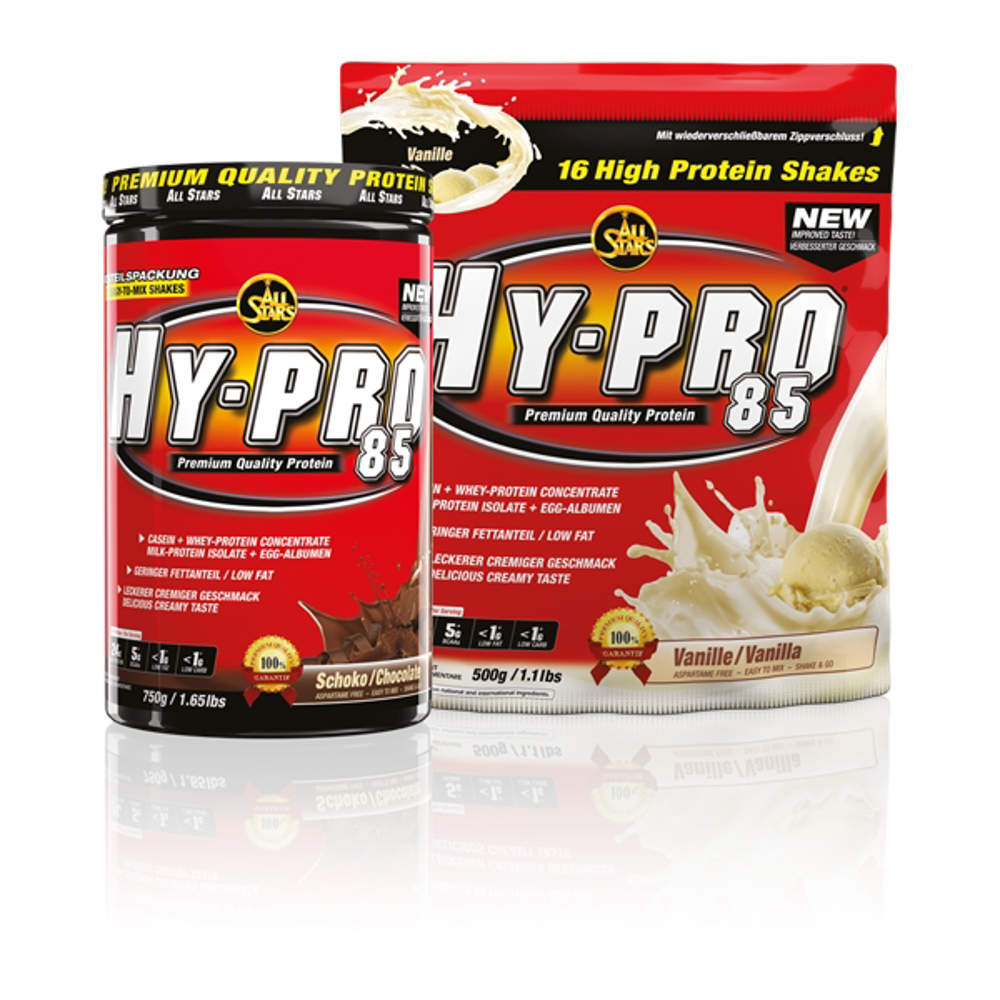 Picture of All Stars Hy-Pro 85 4-komp. protein shake